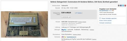 Commodore64-gold