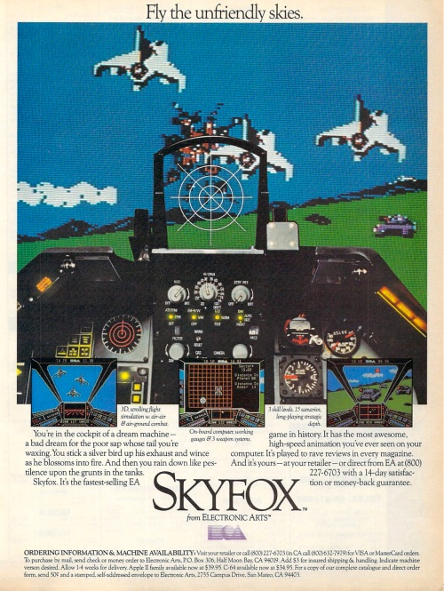 advert skyfox